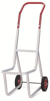 "Raymond 500 Stacked Chair Dolly with 8"" x 1-3/4"" Skid-Resistant Rubber Wheel, 2"