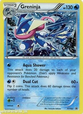 Greninja XY162 Mint Holo Pokemon Card