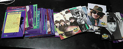 LOT OF 108 ON STAGE The Beatles Collection Cards, THE RIVER GROUP, APPLE CORPS