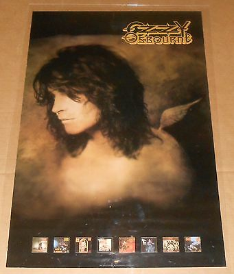 Ozzy Osbourn No More Tears Poster Original Promo 24x36 Angel Album Covers