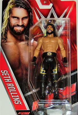 Seth Rollins Basic 60 Wwe Mattel Action Figure Toy (Brand New) - In Stock- Mint