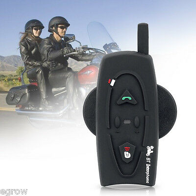 800M BT Moto Intercomunicador Interphone Bluetooth Casco Auriculares Interfono