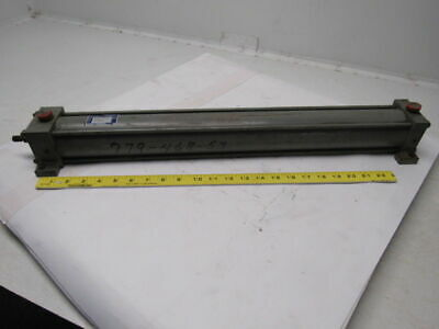 "Miller Fluid A72B 2.5"" Bore X 22"" Stroke Pneumatic Air Cylinder"