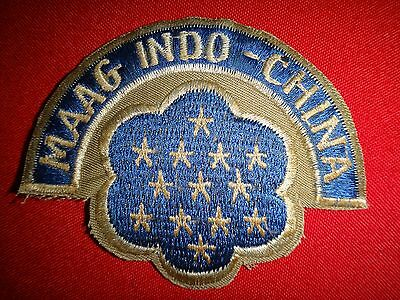 US Military Assistance Advisory Group MAAG INDOCHINA Patch