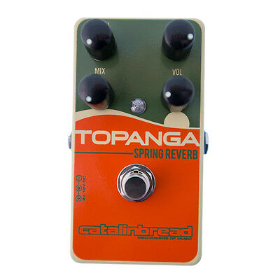 Catalinbread Topanga Reverb Effect Pedal (NEW)