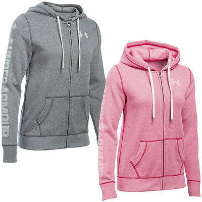 Under Armour Favorite Fleece Full Zip Hoodie Damen Kapuzen Jacke 1283255 Rival