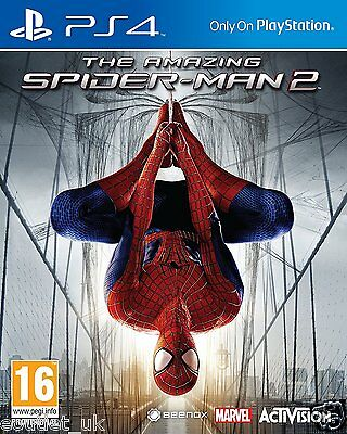 The Amazing Spider-Man 2 Game For Sony Playstation 4 PS4 SpiderMan NEW SEALED