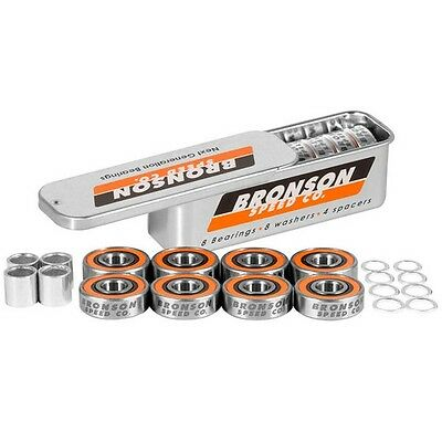 Bronson Speed Co. G3 Longboard Skateboard Bearings + Spacers and Washers
