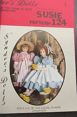 """Syndee's Dolls """"SUSIE"""" Dress Pattern Fits """"Martina"""" 26""""  C3036"""
