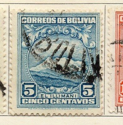 Bolivia 1930 Early Issue Fine Used 5c. 113802