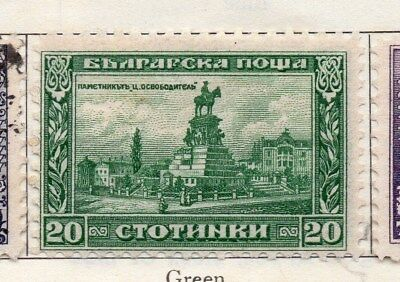 Bulgaria 1921 Early Issue Fine Mint Hinged 20st. 113843