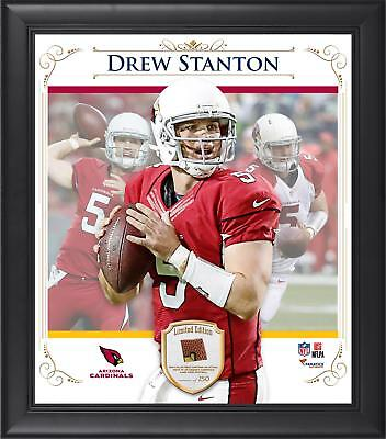 Drew Stanton NFL Arizona Cardinals Framed 15x17 Composite Collage with Game Ball