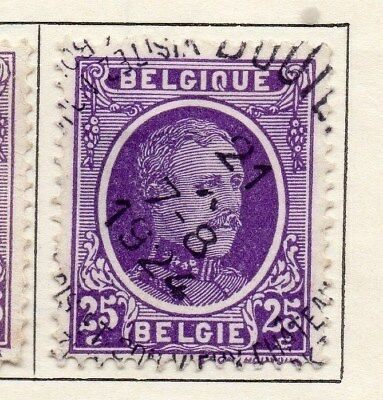 Belgium 1921-25 Early Issue Fine Used 25c. 114993