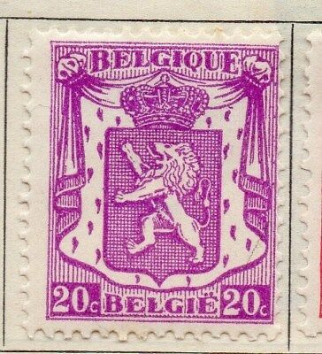 Belgium 1936 Early Issue Fine Mint Hinged 20c. 115031