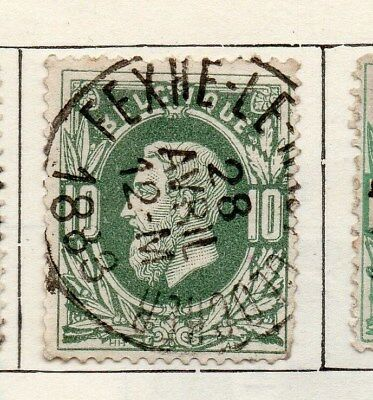 Belgium 1869 Early Issue Fine Used 10c. 115060