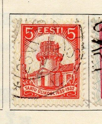 Estonia 1932 Early Issue Fine Used 5s. 114144