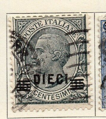 Italy 1925 Early Issue Fine Used 15c. Surcharged 114223