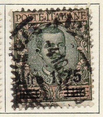 Italy 1925 Early Issue Fine Used 1.75L. Surcharged 114227