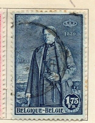 Belgium 1930 Early Issue Fine Used 1.75F. 114393