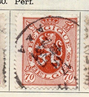 Belgium 1930 Early Issue Fine Used 70c. 114396