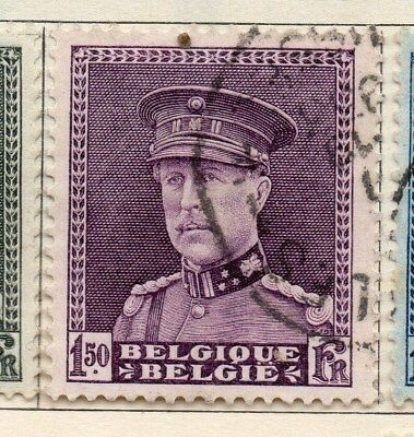 Belgium 1931 Early Issue Fine Used 1.50F. 114415