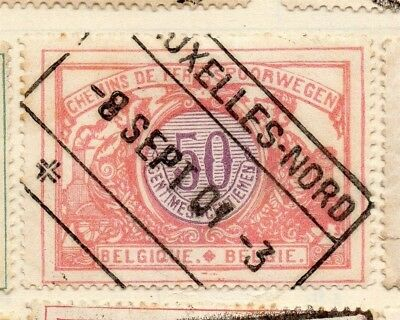 Belgium 1902 Early Issue Fine Used 50c. 114464