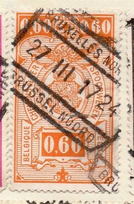 Belgium 1923 Early Issue Fine Used 60c. 114473