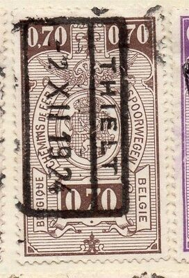 Belgium 1923 Early Issue Fine Used 70c. 114474