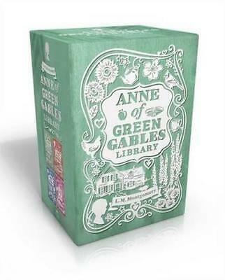 NEW Anne of Green Gables Library By Lucy Maud Montgomery Paperback Free Shipping