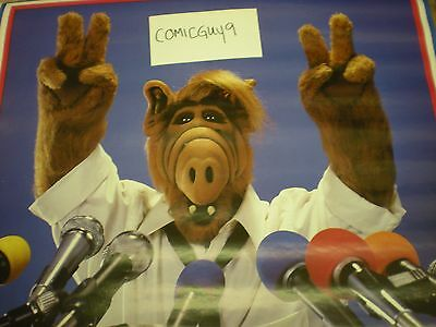 Vintage ALF FOR PRESIDENT POSTER (22 X 34 INCHES) REAL AND AUTHENTIC 1988