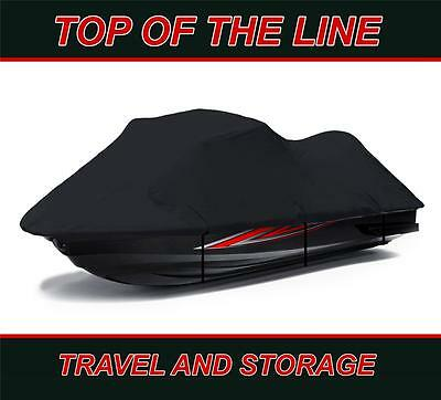 BLACK 600 DENIER Kawasaki Ultra LX (2007-2010) Jet Ski Watercraft Cover