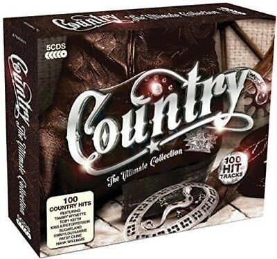 Various Artists - Country: The Ultimate Collection / Various [New CD] UK - Impor