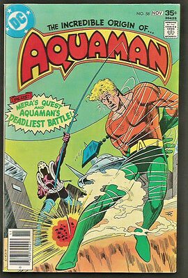 AQUAMAN #58  DC Comics 1977 Bronze Age 1st print & series VF or better