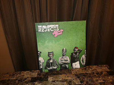 The All-American Rejects Promo Display Picture Poster Board Kids In The Street