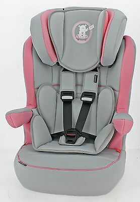 Obaby B is for Bear 1-2-3 High Back Booster Seat Height Adjustable - Pink :Argos