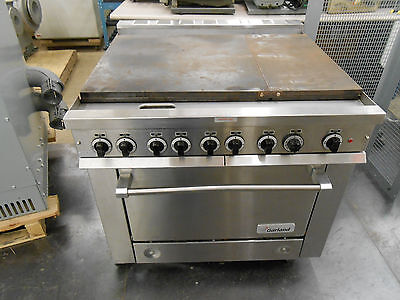Garland 4527849 Commercial Electric Griddle Flat Top With Oven