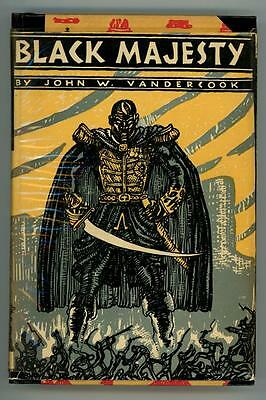 Black Majesty by John W. Vandercook (First Edition) Mahlon Blaine Art