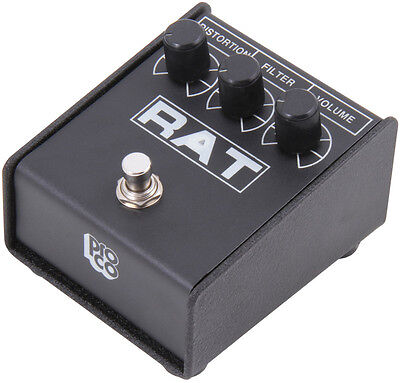 ProCo Rat 2 Distortion Pedal For Electric Guitar (NEW)