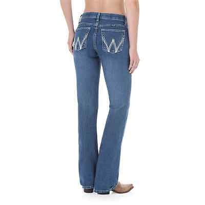 WCV20MS Wrangler Women's Ultimate Riding Jean With Cool Vantage Q-Baby Dark Blue