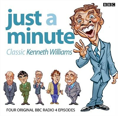 Just A Minute: Classic Kenneth Williams (Audio CD), Messiter, Ian. 9781408470756