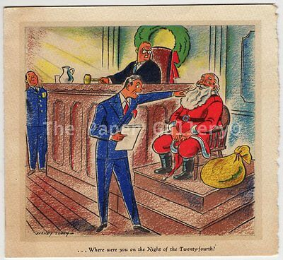 Vintage Christmas Card from Bill Zimmerman~94999