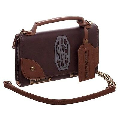 Fantastic Beasts Hybrid Bag Handbag Womens Wallet Purse Faux Brown Leather