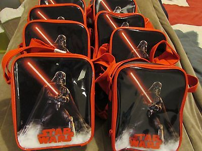 8 off STAR WARS Kids Backpacks LUNCH Box BAGS