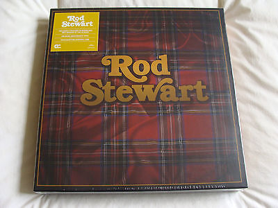 Vinyl Box Set: Rod Stewart  Collection & Download Sealed : 5 Albums