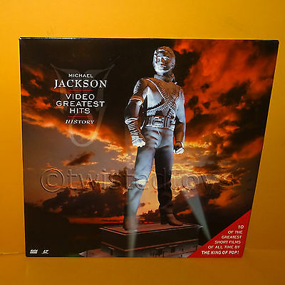 1995 Epic Michael Jackson History Video Greatest Hits Laser Disc Laserdisc Pal