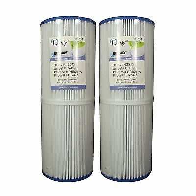 2 x Spa Filter C4326 Hot Tub Filters PRB25IN Beachcomber Artisian and more