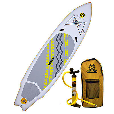 "2016 C4 Waterman 10'9"" BK Pro 150 Inflatable SUP Standup Paddle Board"