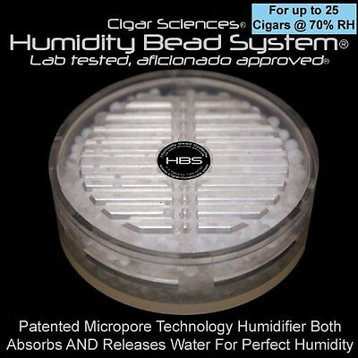 Humidity Bead System® (Small, 70% RH for up to 25 Cigars) MADE IN USA