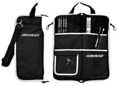 Ahead Deluxe Stick Bag Black with Gray Trim