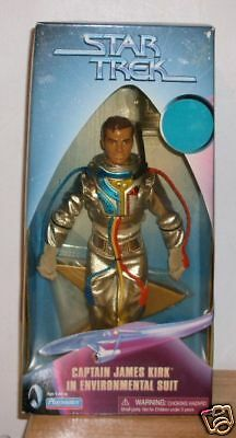 "Star Trek 9"" Kirk Environmental Suit  Playmates Tholian Web"